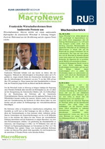 Macro-Newsletter - Ruhr