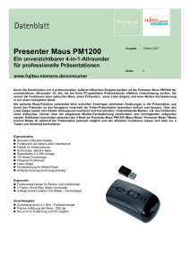Presenter Maus PM1200
