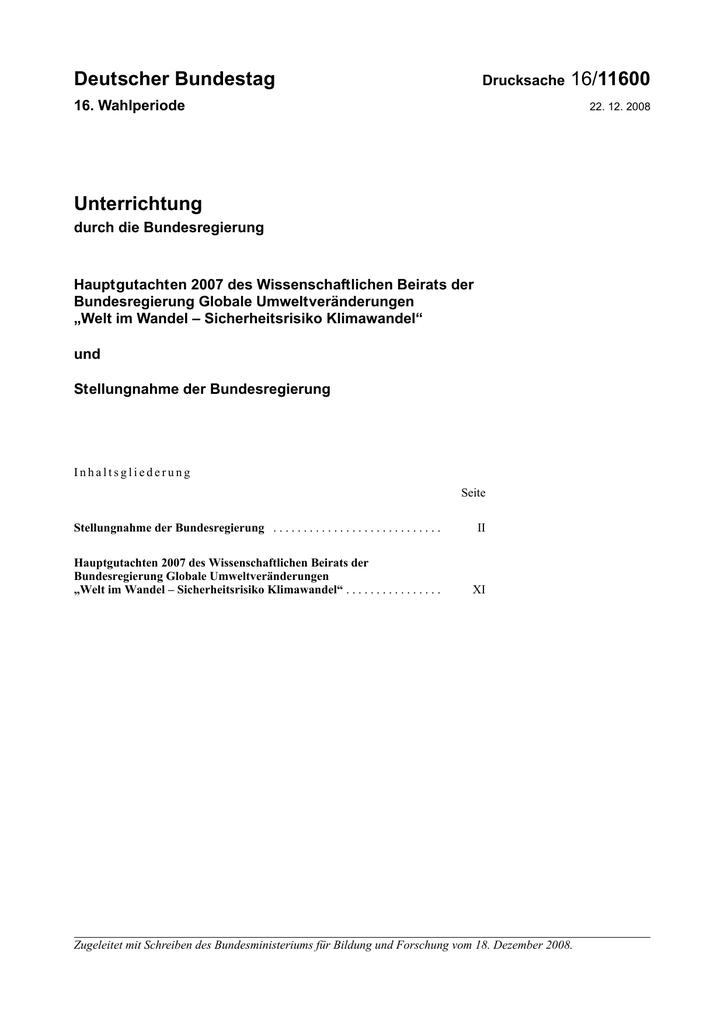 16/11600 - DIP21 - Deutscher Bundestag