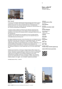 "Architekturzentrum Wien Haus ""Lofts 20"""