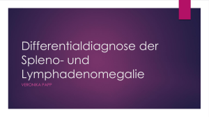 Differentialdiagnose der Spleno