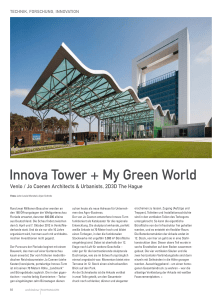 Innova Tower + My Green World