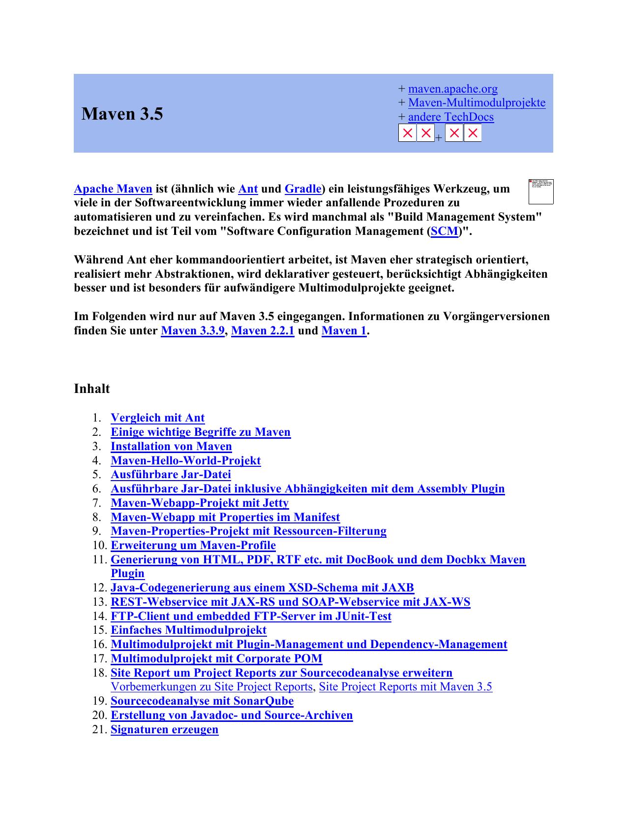 Maven 3 5 - Torsten Horn