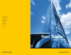 Post Tower - Post und Telekommunikation