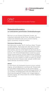 Patienteninformation - Universitätsspital Basel