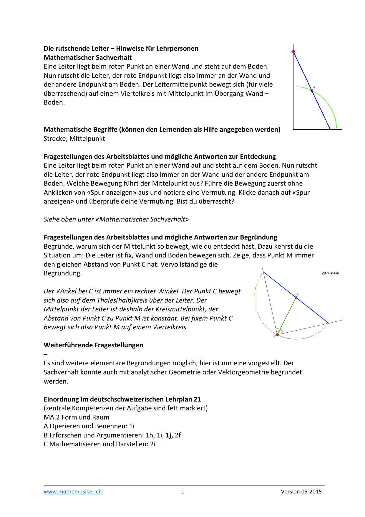 Großzügig Die Abstandsformel Arbeitsblatt Antworten Ideen - Mathe ...