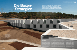 Die Boxen- Strategien
