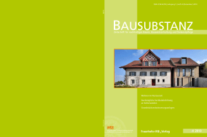 BauSuBStaNz - L3P Architekten AG