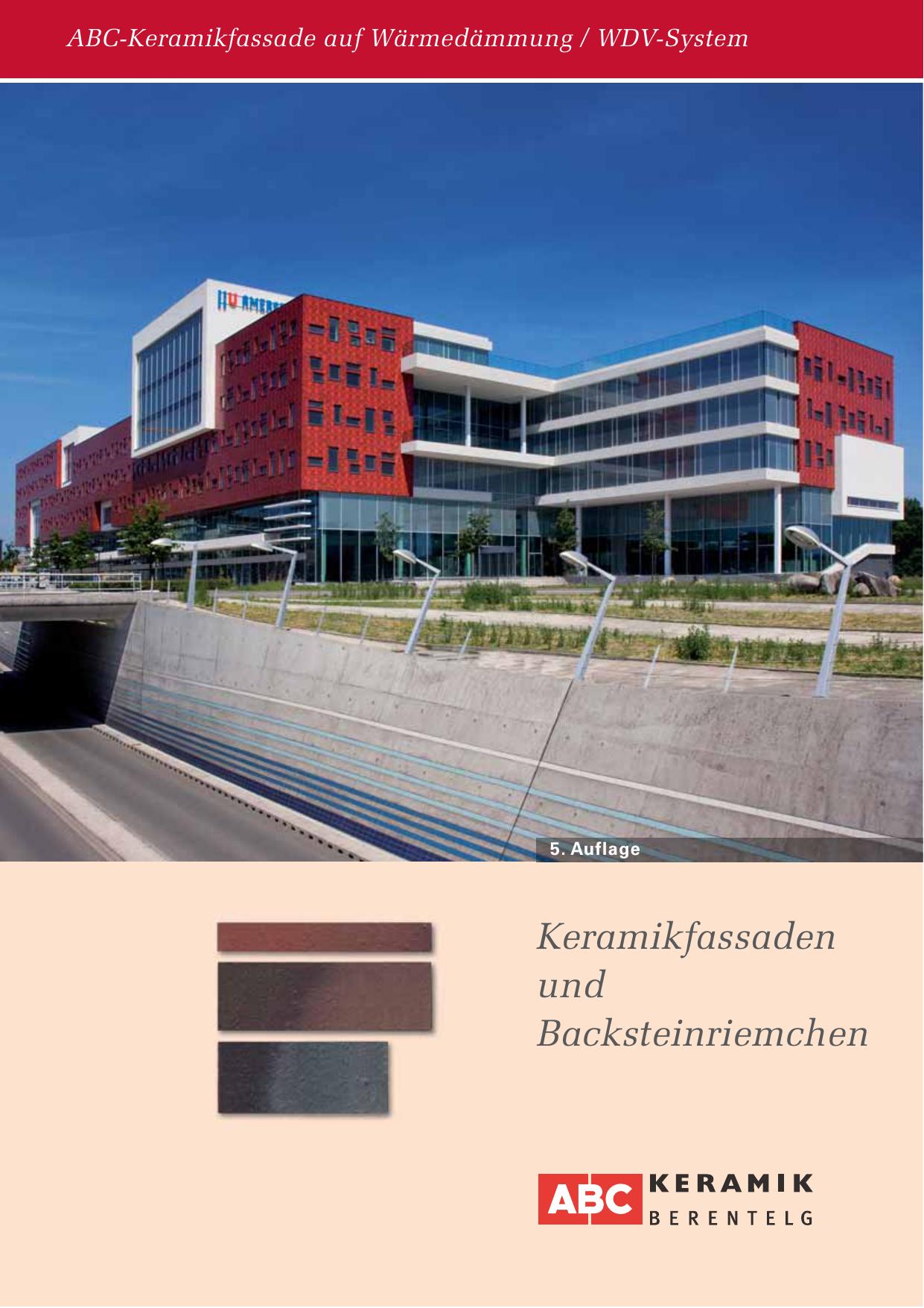 keramikfassaden und backsteinriemchen