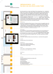 VIRTUELLES BUCH - eCulture Factory