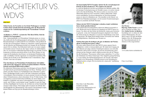 architektur vs. wdvs - STEFAN FORSTER Architekten