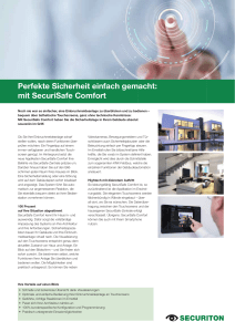 mit SecuriSafe Comfort