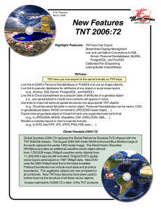 New Features TNT 2006:72
