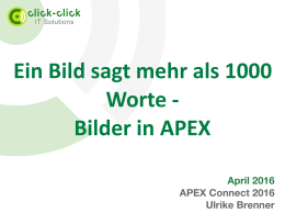 Ulrike Brenner Bilder in APEX.key