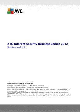 AVG Internet Security Business Edition 2012