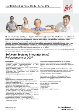 D007_Software Systems Integrator