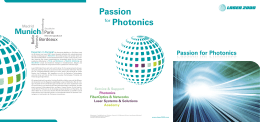 Passion for Photonics