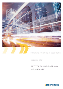 aet token und safesign middleware