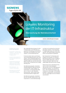 Lokales Monitoring der IT-Infrastruktur