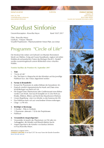 Stardust Sinfonie – 2 Circle of Life