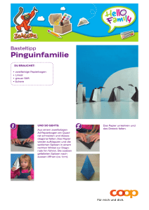 Pinguin-Familie - Hello Family Club