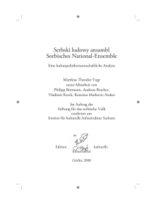 Serbski ludowy ansambl Sorbisches National-Ensemble