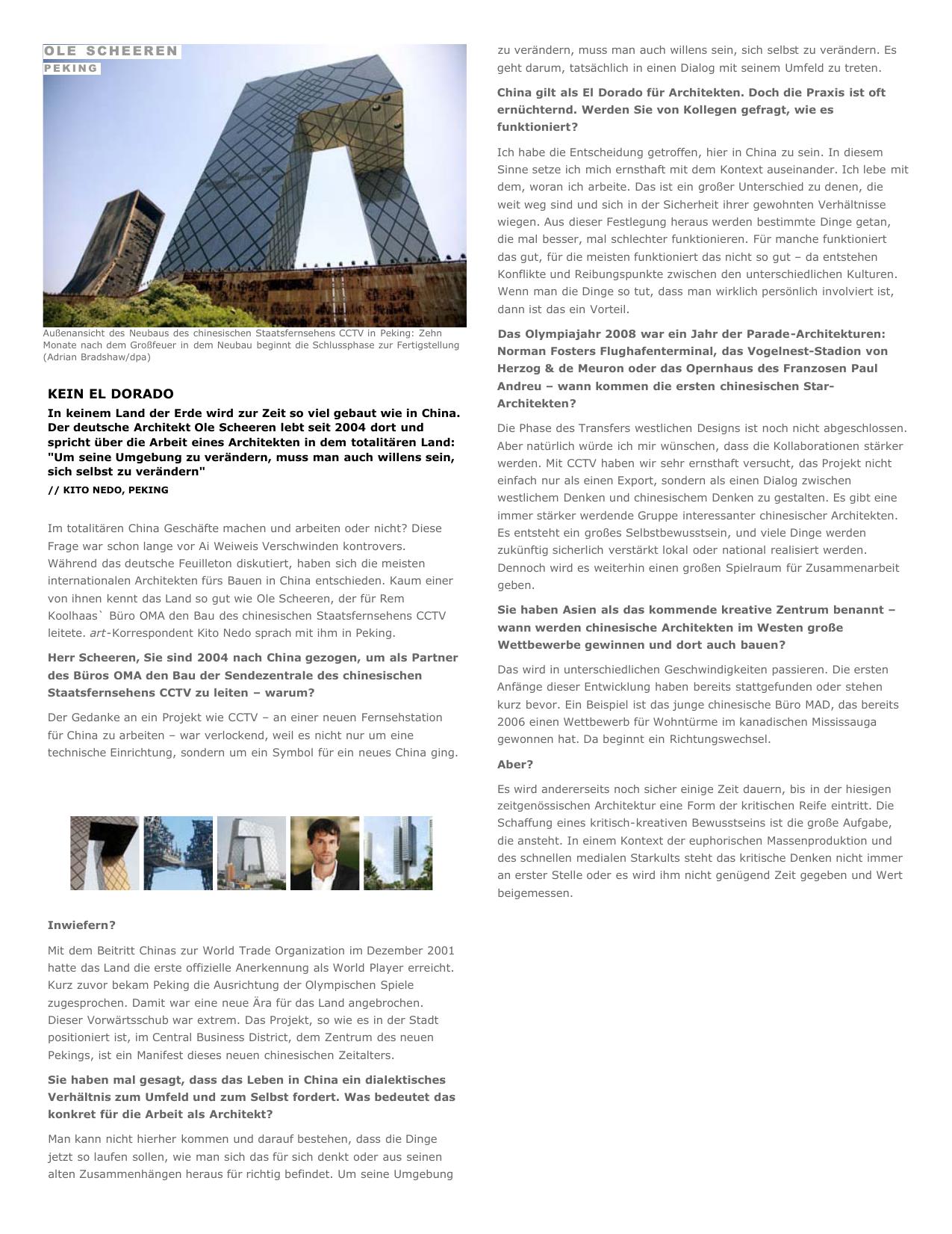 Peking - Kein El Dorado - Architektur - art-magazin.de
