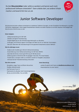 Junior Software Developer