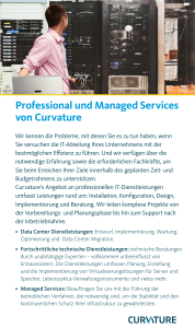 Curvature Professional und Managed Services German