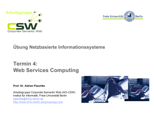 Termin 4: Web Services Computing