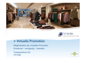 Virtuelle Promotion