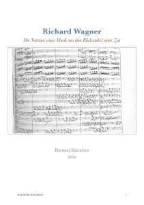 Wagner Notation Parsifal Orchester
