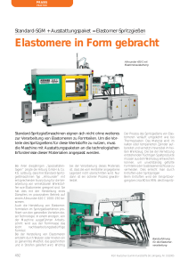 Elastomere in Form gebracht - kgk