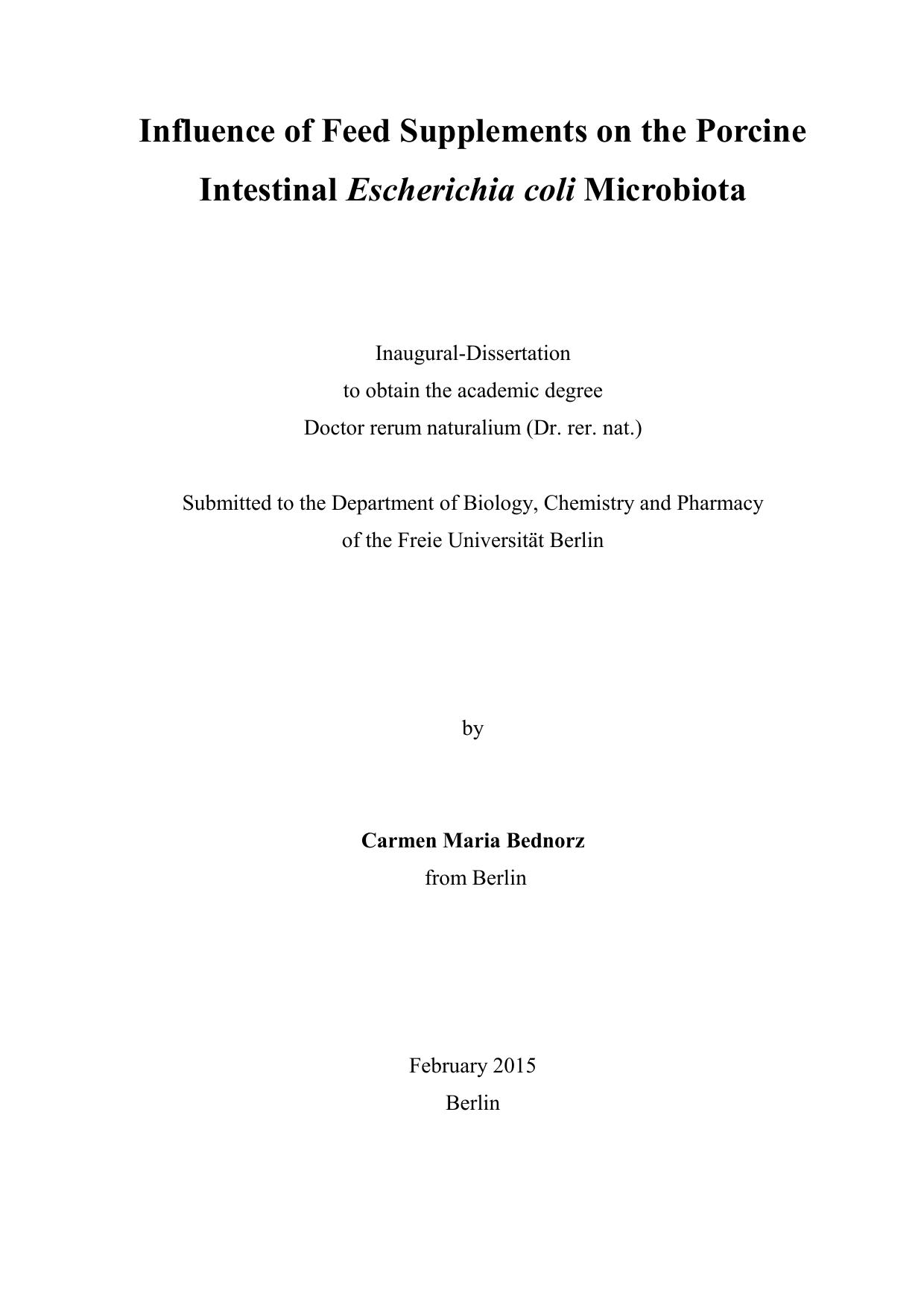 dissertation fu berlin vetmed