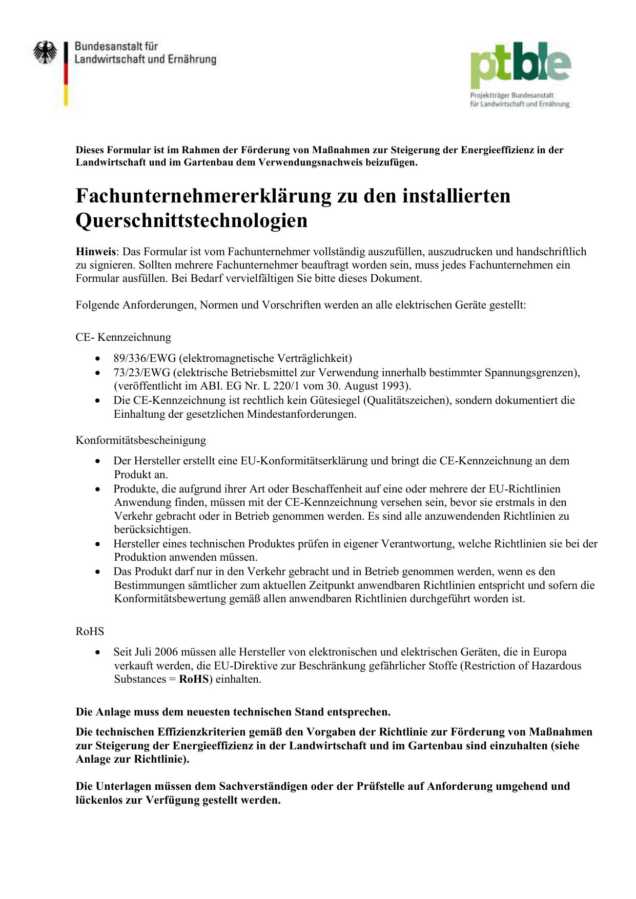 Fachunternehmererklarung Docx 199 Kb Nicht Barrierefrei