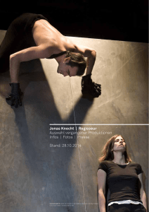 Jonas Knecht - THEATER KONSTELLATIONEN