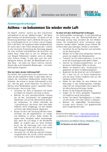 Asthma 2 - Medical Tribune