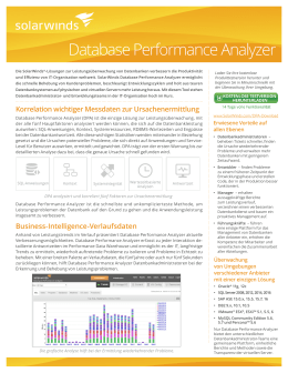 Database Performance Analyzer