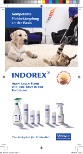 Beipackzettel Indorex® Fogger - Shop