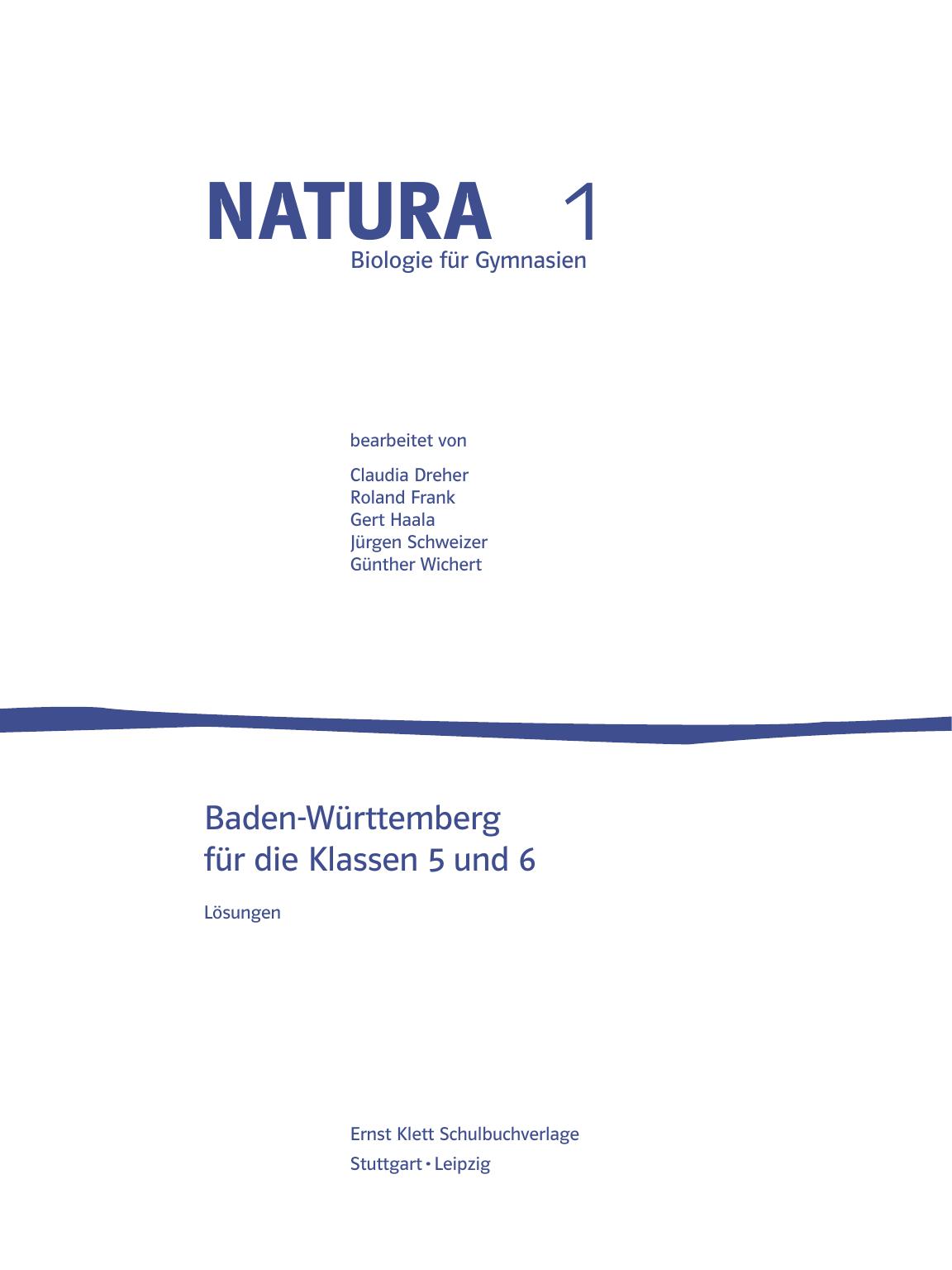 natura - Klett