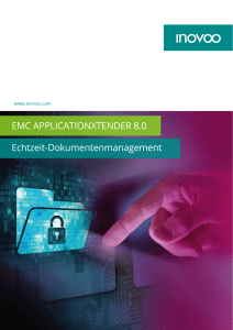 EMC APPLICATIONXTENDER 8.0 Echtzeit