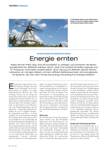 Energie ernten - All
