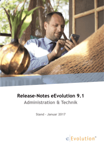 Release-Notes 9.1 Administration und Technik