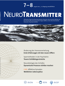 NeuroTransmitter vom Juli 2010