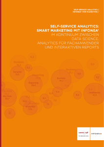 self-service analytics: smart marketing mit infonea