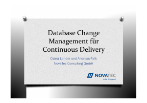 Database Change Management für Continuous
