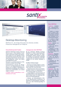 Desktop-Monitoring