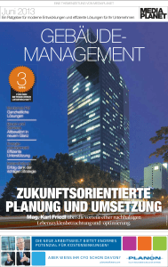 Themenzeitung Facility Management, 20. Juni 2013 pdf, 3.1 MB