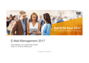E-Mail-Management 2017 - ELO Digital Office GmbH