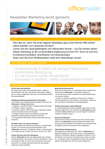 E-Mail-Marketing mit dialogue1 plus